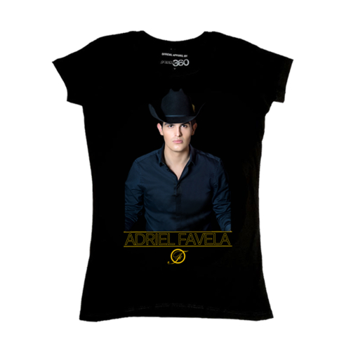 ADRIEL FAVELA BLACK SHIRT