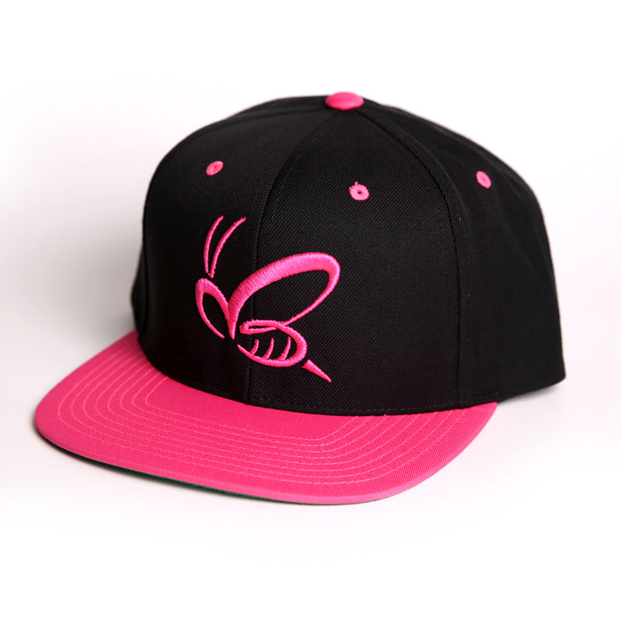 Chiquis Online Store » BEE LOGO BLACK PINK SNAPBACK 3268a41bac6
