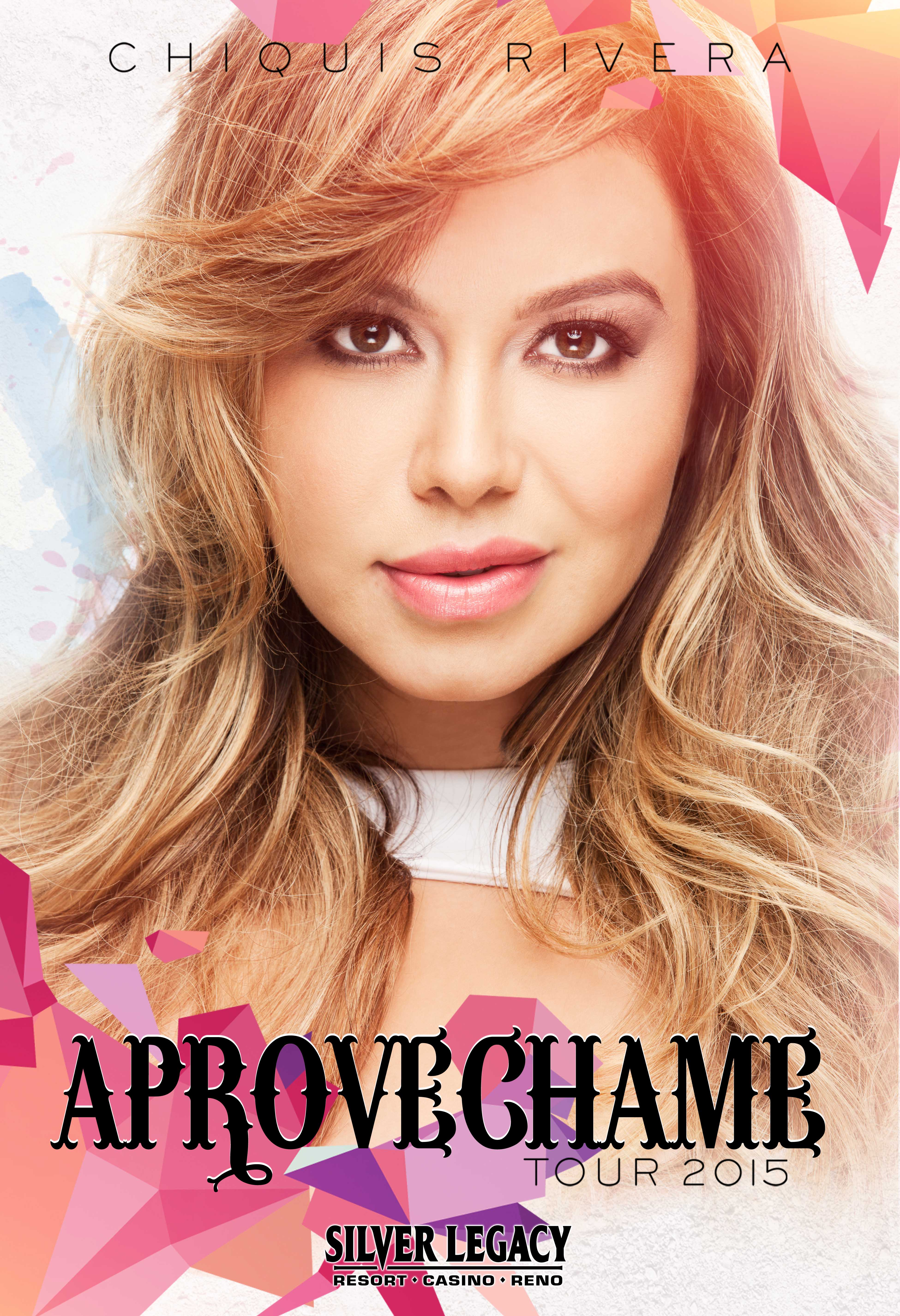 Chiquis Online Store Chiquis Rivera Silver Legacy Casino Poster