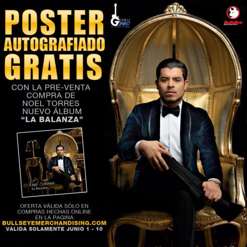 Noel La Balanza flyer